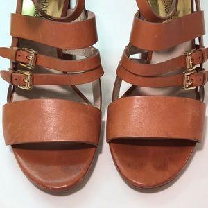 Michael Kors straps and buckles sandals. Sz 9